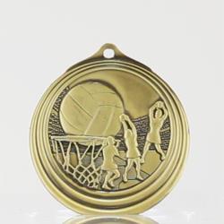 Ripple Series Netball Medal 57mm