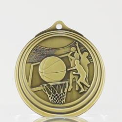 Ripple Series Basketball Medal 57mm