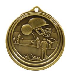 Ripple Series Cricket Medal 57mm