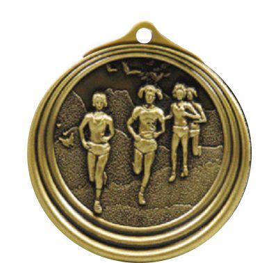 Ripple Series Cross Country Female Medal 57mm