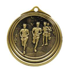 Ripple Series Cross Country Male Medal 57mm