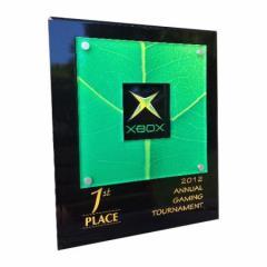 Focus Plaque - Green Leaf (3 SIZES)