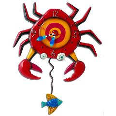 Art Pendulum Clock – Crabby
