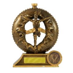 3D Breakthrough Athletics Male Trophy - 120mm