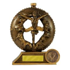3D Breakthrough Athletics Female Trophy - 135mm