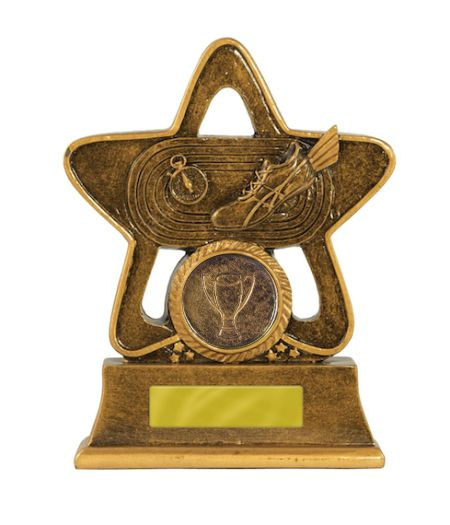 Holy Star Athletics Trophy - 110mm