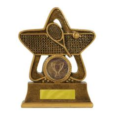 Holy Star Tennis Trophy - 145mm