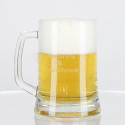 Glass Beer Mug 500ml