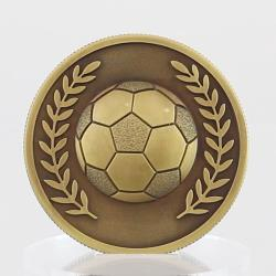 Gold Soccer Coin in Case