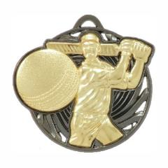 Vortex Cricket Medal 55mm Gold