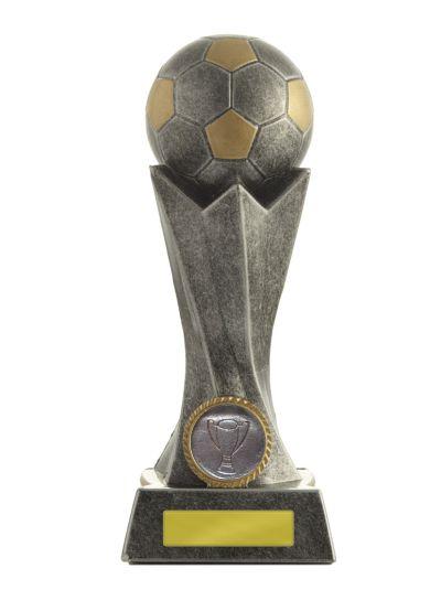 Silver Spiral Soccer 195mm