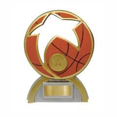 Basketball & Star Abstract 170mm