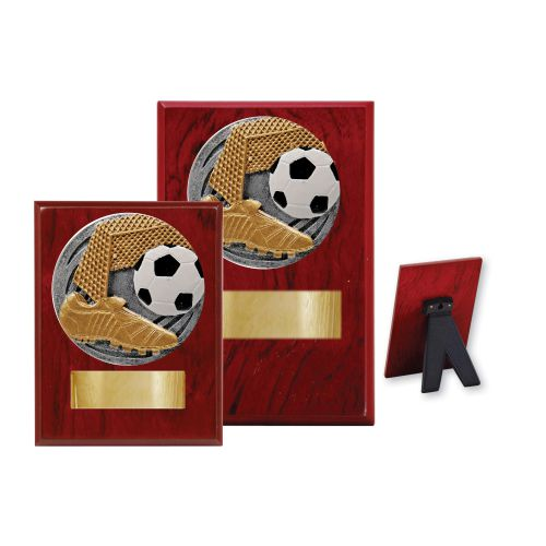 Soccer Wood Plaque - 2 Sizes