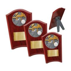 Golf Wood Plaque Curved - 3 Sizes