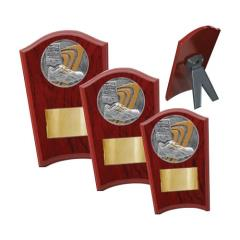 Track & Field Wood Plaque Curved - 3 Sizes