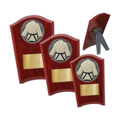Martial Arts Wood Plaque Curved - 3 Sizes