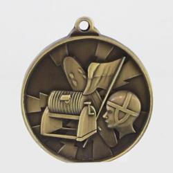 Lightning Lifesaving Medal 55mm Gold