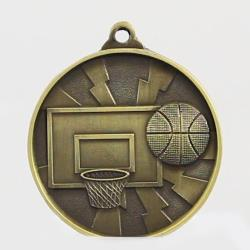 Lightning Series Basketball Medal 50mm