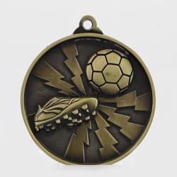 Lightning Series Soccer Medal 55mm Gold