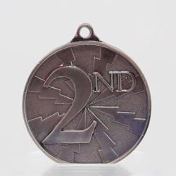 Lightning Series 2nd Place Medal 55mm