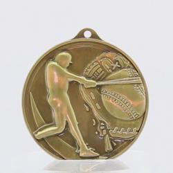 Embossed Baseball Medal