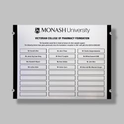 Innovation Acrylic & Chrome Honour Board (Half Size)