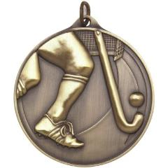Embossed Hockey Medal