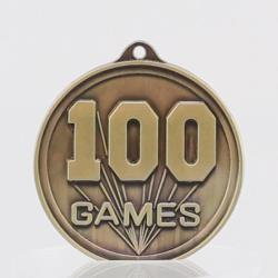 100 GAMES Embossed Medal 50mm
