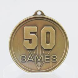 50 GAMES Embossed Medal 50mm
