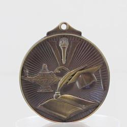 Embossed Knowledge 3D Medal  52mm