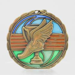 Stained Glass Athletics Medal 65mm