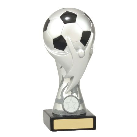 Soccer Cup Silver 190mm