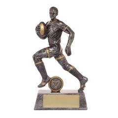 Male Rugby Action Hero 160mm