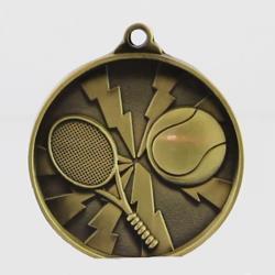 Lightning Tennis Medal 50mm Gold
