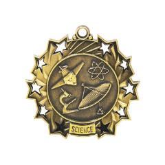 Ten Star Science Medal 60mm