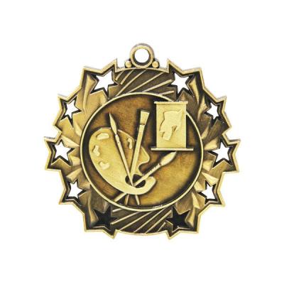 Ten Star Art Medal 60mm