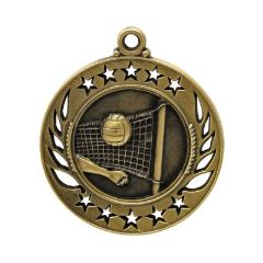 Galaxy Volleyball Medal 60mm