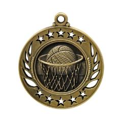 Galaxy Basketball Medal 60mm