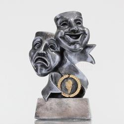 Silver Drama Masks 170mm