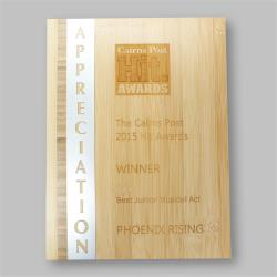 Eco Series Plaques – Bamboo Appreciation 230mm