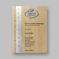 Eco Series Plaques – Bamboo Achievement (2 sizes)