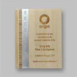Eco Series Plaques – Bamboo Excellence (2 sizes)