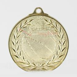 Wreath Basketball Medal 50mm Gold