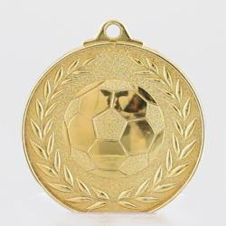 Wreath Series Soccer Medal 50mm