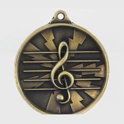 Lightning Series Music Medal 55mm