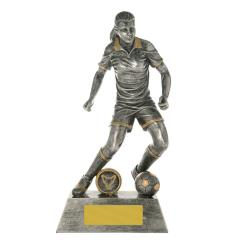 Soccer Action Hero Female 200mm