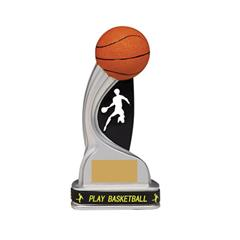 Trophy Band Basketball Silhouette 155mm