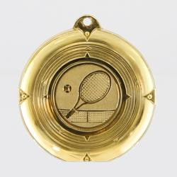 Deluxe Tennis Medal 50mm Gold