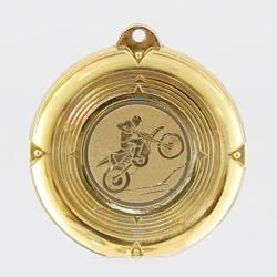 Deluxe Motorcross Medal 50mm