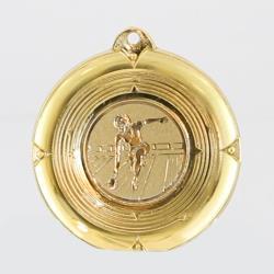 Deluxe Tenpin Female Medal 50mm